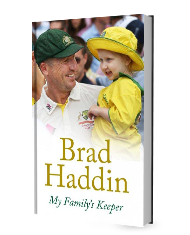 Book: My Family's Keeper - Brad Haddin