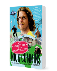 Book: Adventures of the Honey Badger - Nick Cummins
