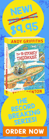 91 Storey Treehouse Andy Griffiths & Terry Denton