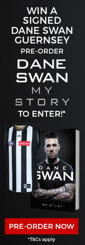 Dane Swan Pre-order Competition