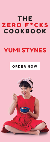 Yumi Stynes Zero Fucks Cookbook