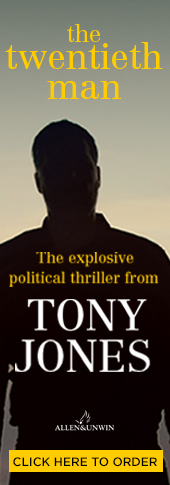 The Twentieth Man Tony Jones