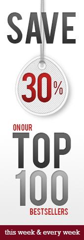 30% off top 100