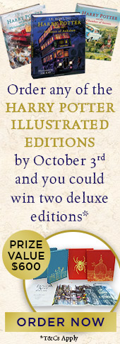 Harry Potter Illustrated Editions Prize Offer